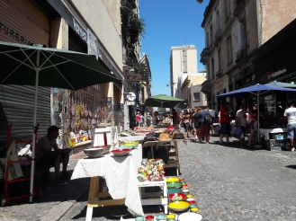 San Telmo art market