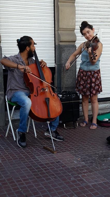 San Telmo Street market Buenos Aires