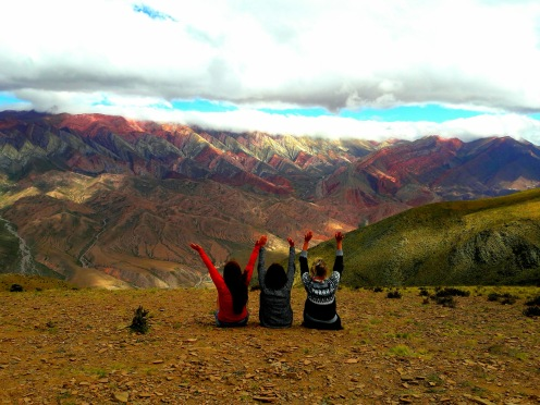 Amazing 14 colors mountain Argentina
