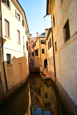 The canals in Treviso