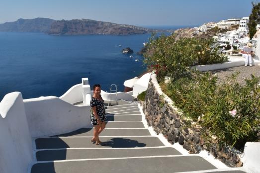 Solo trip to Oia Santorini