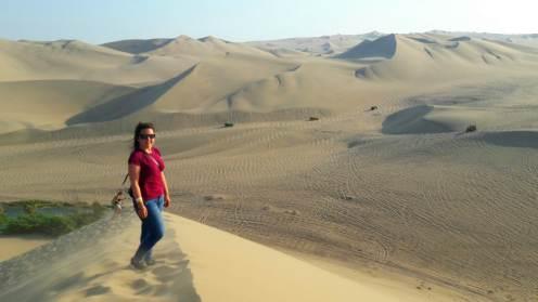 Huacachina desert Peru