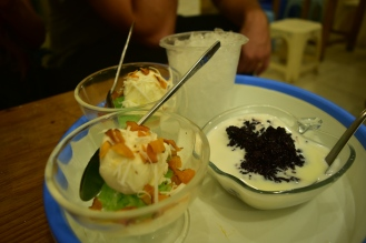 Rice ice cream Vietnam