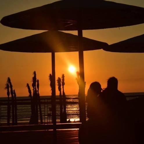 Sunset at Tel- Aviv Port