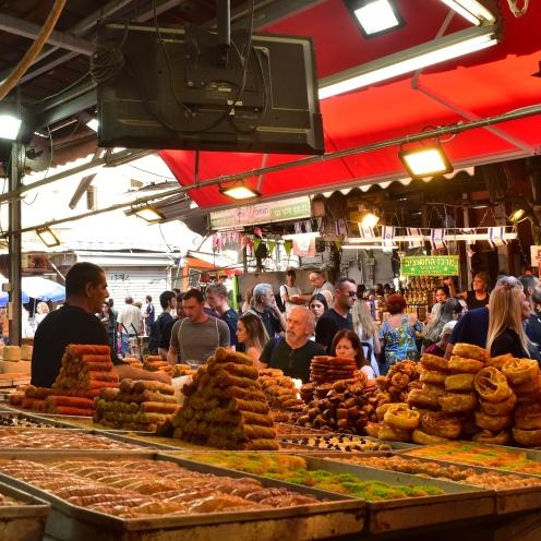 Arabic Desserts Carmel Market